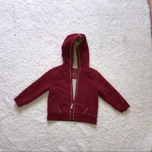 L.L. Bean adorable hooded  sweatshirt